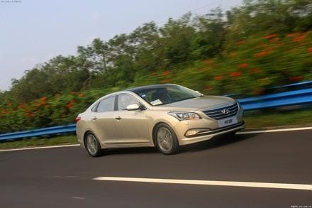 Hyundai Mistra cho thị trường Trung Quốc